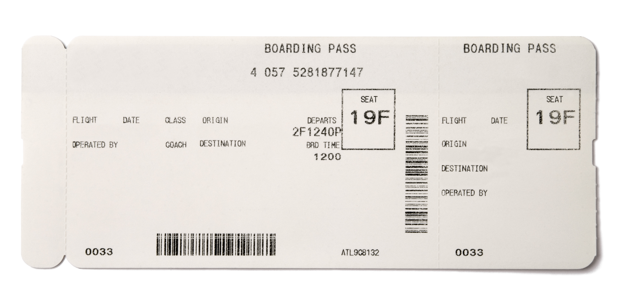 Making Fake Boarding Passes As Gifts
